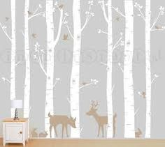 Image result for woodland themed nursery wall decal