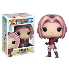 Naruto Sakura Pop! Vinyl Figure - Funko - Naruto - Pop! Vinyl Figures at Entertainment Earth