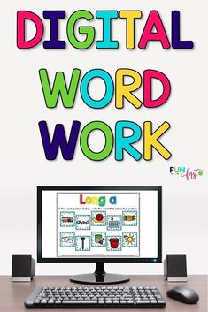 Do you need something to help spice up your phonics instruction each week? This Digital Word Work activity is the perfect way to add a little extra to your week. Simply project the file onto your screen and complete these activities as a whole group or sm Teaching Phonics, Teaching Kindergarten, Teaching Tools, Teaching Resources, Teaching Ideas, Teacher Sites, Teacher Boards, Teacher Stuff, Word Work Activities