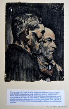 Arte: Dibujo de E. Serra 1911 * Original y firmado por el Autor * Medidas de la Obra 23cm x 17cm * - Foto 3 - 53962324