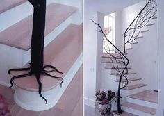 Tree Stairs via http://goo.gl/LgVGt