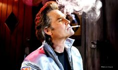 Kurt Russell as Stuntman Mike McKay in the film Death Proof (Quentin Tarantino - 2007) Art Print (L or XL only)