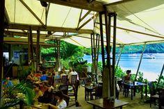 Jack's Beach Bar on Princess Margaret Beach in Bequia. Great food! Great views!