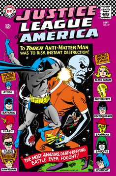 Justice League of America #47 - The Bridge Between Earths! (Issue)