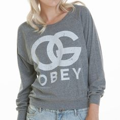 Obey Clothing OG Forever Sweater i want is for school