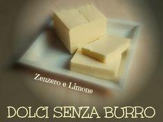 DOLCI SENZA BURRO
