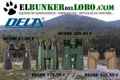 Prismaticos DELTA OPTICAL disponibles en El Bunker Del Lobo.
