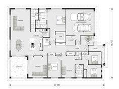 Somerset 513 - Prestige, Home Designs in | G.J. Gardner Homes ...