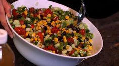 Black Bean and Corn Salsa Salad