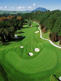 Wairakei International Golf Course, Taupo, New Zealand