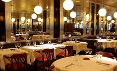 Brasserie Lutetia, in St Germain des Prés, is the perfect example of a typical Parisian brasserie. Most renowned Left Bank meeting places...