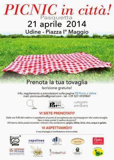 PICNIC IN PIAZZA PRIMO MAGGIO A UDINE. UDINEINVETRINA #udine #fvg #pasquetta #eventi #picnic #outdoor #tempolibero #piazze #curiosità #new