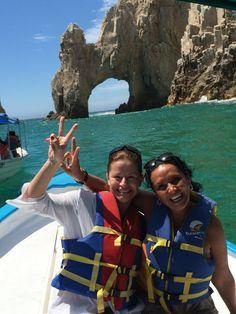 Con mi mejor amiga Wendy de Los Cobos en Los Cabos