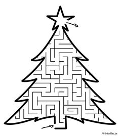 Jullabyrint 2 Christmas Games For Kids, Winter Christmas, Christmas Crafts, Christmas Decorations, Kwanzaa, Hanukkah, Educational Activities For Kids, Kids And Parenting, Coloring Pages