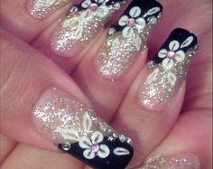 Superb Silver Nail Designs