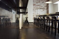 Artek - Projects - Contract Projects - Socjal bistro, Warsaw, Poland
