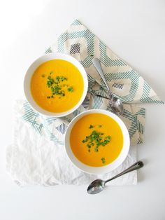 Creamy Carrot Ginger Soup — Whole Living Lauren