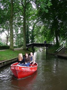 Bootje varen is een must