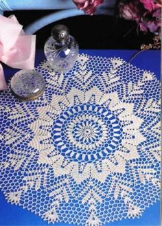 Doily crochet., just  like the one my mom made