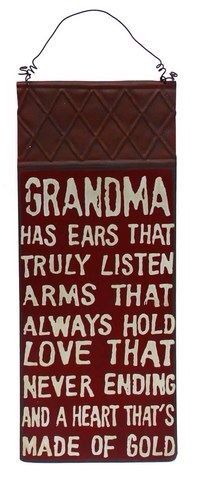 This is so true of my grandmother! :)