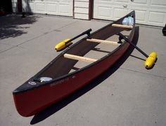 canoe outrigger for stability, fly fishing, nervous paddlers http://www.bonanza.com/listings/Canoe-Stabilizers-Outrigger-2-Gunwale-Clamps-allow-quick-removal/115379861