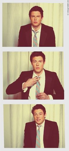 Cory Monteith because he was also a punk and got his act together and is adorable