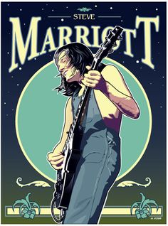 Steve Marriott, Heavy Metal, Rock Posters, Movie Posters, Small Faces, Blues Rock, Psychedelic, Humble Pie, Anime