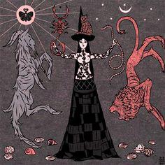 «Демонический мир» от канадского коллектива Tin Can Forest — VilingStore