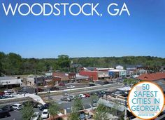 cool The 50 Safest Cities in Georgia - SafeWise Woodstock Georgia, Stuff To Do, Things To Do, Places Worth Visiting, Georgia On My Mind, Exotic Places, Best Location, Small Towns, The Neighbourhood