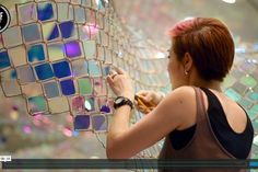 Soo Sunny Park: Unwoven light | People | different mosaics, videos