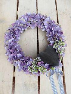 Purple Wreath Summer WreathAutumn Wreath Front door by MDECOR1979