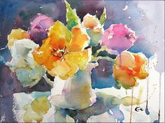 Being a watercolor paper lunatic, I was very excited to try Saunders Waterford brand. It is manufactured by St Cuthberts Mill, which has bee...