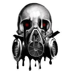 Skull and gas mask Gas Mask Art, Masks Art, Gas Masks, Art Sketches, Art Drawings, Totenkopf Tattoos, Mask Tattoo, Tattoo Art, Skull Artwork