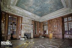 The Chateau de Carnelle, France - beginning its restoration