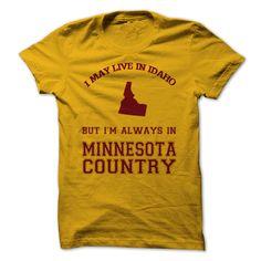 Idaho Minnesota #sport #tshirt