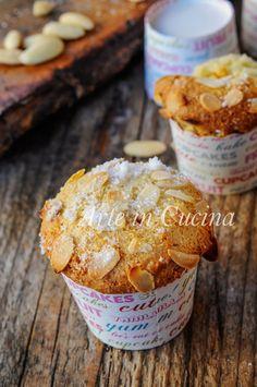 Almond Muffins, Vegan Recepies, Sweet Corner, Eggless Recipes, Biscotti Cookies, Torte Cake, Italy Food, Gluten Free Sweets, Macaron