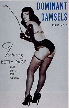 Bettie Page a dominant women did not fit the city ordinance definition of porn : sexual exploitation of a subservient women