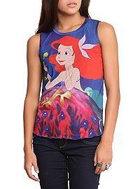 HOTTOPIC.COM - Disney The Little Mermaid Ariel Top