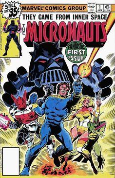Comic Book Critic - Google+ - Micronauts #1 (Jan '79) cover by Dave Cockrum & Al Milgrom.