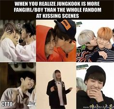 .... Teach me the ways of fangirling, Jungkook!! I must learn from the master of fangirling xD>>Lawl