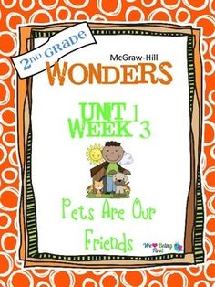 If you are already using or you are new to the Wonders Reading Program, this 55 page packet is for you. You'll have help with weekly lesson planning, printables for centers or word work activities, anchor charts, writing activities, high frequency word practice, an abundance of spelling activities, and much, much more.Check the table of contents below to see exactly what is included in the packet.
