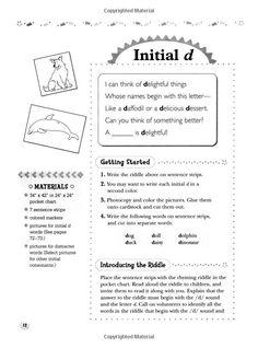 interactive pocket chart poem to encourage phonemic awareness