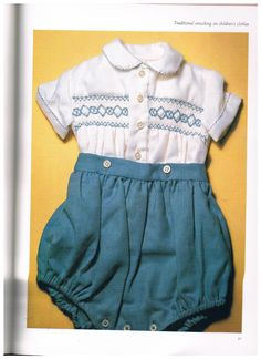 Every Kind of SMOCKING by SparrowFinds on Etsy