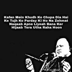 Hindi Quotes, Quotations, Me Quotes, Qoutes, Nfak Lines, Nusrat Fateh Ali Khan, Attitude Quotes For Boys, Self Talk, Sufi