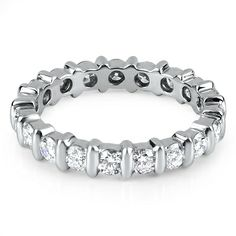 The Abruzzo full eternity ring from Hatton Jewels
