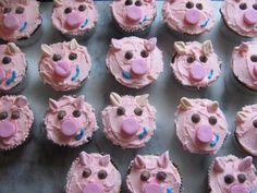 My pig roast cupcakes!