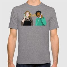 Adele and Lionel Hello by Cup of Sarcasm T-shirt by Cup Of Sarcasm