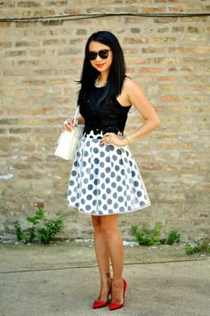 Red soles and red wine - Petite Style & Fashion Blogger / Petite Lookbook