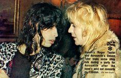 Steven Tyler Aerosmith | Roger Taylor (Queen)