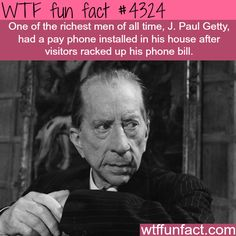 The cheapest richest man in the world - WTF fun facts